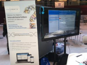 HMG presented PGX InteraktionsCheck (www.pgx-interaktionscheck.com) at the congress.