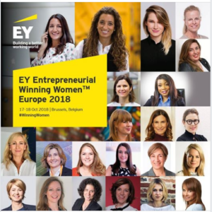 "Herna Muñoz-Galeano, Managing Director of HMG Systems Enginnering is one of the ""EY Entrepreneurial Winning Women™"" Europe Class 2018"